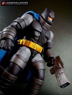 Batman TDKR Armour (DC Direct) Custom Action Figure