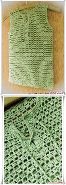 "Майка-поло ""Оливка"" для мальчика [] #<br/> # #Crochet #Top,<br/> # #Cupcake,<br/> # #Knitting,<br/> # #Ideas,<br/> # #Sticks,<br/> # #Dresses,<br/> # #Clothes,<br/> # #Crochet,<br/> # #Gossip<br/>"