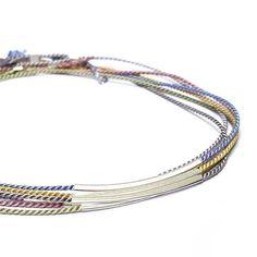 S I L K B R A C E L E T S  9 2 5 S #925silver #gold #jewelry #silk #bracelets