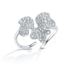 Anna Hu Jewelry  Winter Orchid Ring