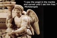 Soooo.....they're HIS fault! Michelangelo is the creator of the Weeping Angels! This should be an episode.