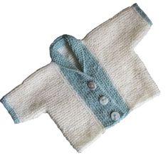Ribbed Baby Jacket. free pattern