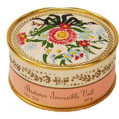 Vintage Cosmetics Elizabeth Arden Invisible Veil 1940s/50s