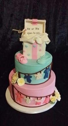 Pinals Baby Shower Cake