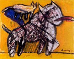 Home, Health, and Everything ART-y Chaim Soutine, Scandinavian Art, Dutch Artists, Art Studies, Drawing For Kids, Cat Art, Folk Art, Picasso, Modern Art