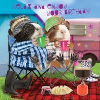 Kartka urodzinowa Happy Campers