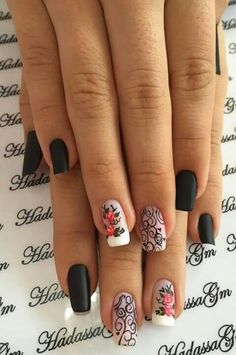 Sonho de unha Manicure Y Pedicure, Nail Arts, Pretty Nails, Nail Art Designs, China, Anime, Beauty, Fashion, Dream Nails