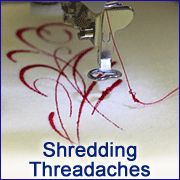 Machine Embroidery Designs How to stop the shredding threadache! Embroidery Library - Machine Embroidery Designs Inspired Project Page Machine Embroidery Projects, Machine Embroidery Applique, Learn Embroidery, Brother Embroidery, Beginner Embroidery, Embroidery Machines, Embroidery Monogram, Crewel Embroidery, Embroidery Thread