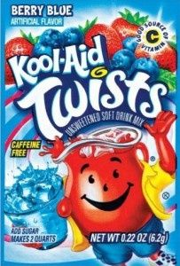 dye your hair with Koolaid (you can also use jell-o) Pour one packet of koolaid/jello into a container and add 2 tsp of any conditioner. Then add 2 tsp of water. Use a paintbrush or a toothbrush and paint it into the hair.Wrap the strand of hair with aluminum foil. The more koolaid you paint in your hair the darker it will be. Also, the longer you leave the koolaid in your hair will also affect the darkness of the color. When your done, wash hair with COLD water and no shampoo or…