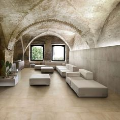 These Cement concrete tiles with Caesar collection gives complete planning freedom to your spaces. Its porcelain tiles bring together the needs for a contemporary cement-look and a design that is personalisable.