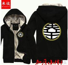Dragon Ball Son Goku hoodie north Kaio DragonBall Z DBZ Cosplay Costume cotton fleece thick jacket coat coat