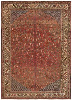 antique rugs BAKSHAISH TREE OF LIFE' Northwest Persian