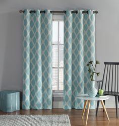 Victoria Classics Kenter Blackout Curtain Panels & Reviews | Wayfair