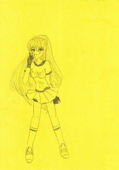 Maron Ayano Minsha ~ yellow paper by MaronHime