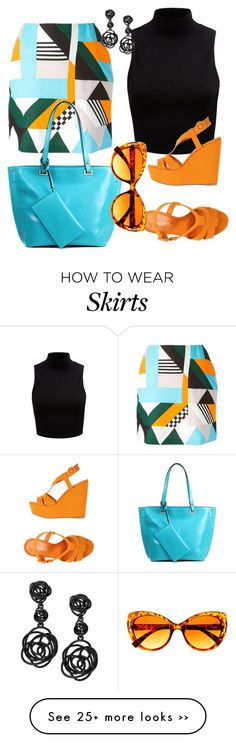 """""""Cool skirt"""" by tamilausa on Polyvore"""