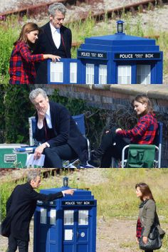 Doctor, what did you do with the TARDIS? Also AUGUST 23 SERIES 8!!! Trailer is on BBC YouTube, I can't pin it because I can't find it XD