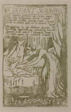 William Blake ''Songs of Innocence and of Experience': 'Infant Sorrow'', 1794, reprinted 1831 or later