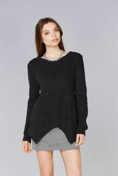 EASY CABLEKNIT SWEATER - SUPERMUSE