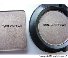 Inglot-P423 dupe for MAC Sable and Urban Decay Toasted ...