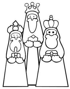 Drie Wijzen Kleurplaat Kerst Pinterest Kleurplaten