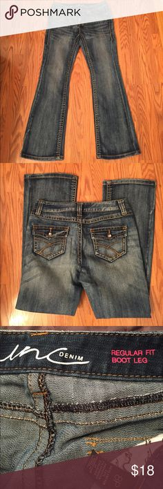 """Inc bootcut jeans Inc bootcut jeans, inseam 29"""" mid rise INC International Concepts Jeans Boot Cut"""