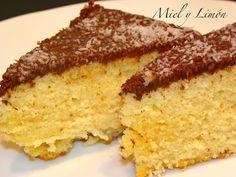 Miel y Limón : BIZCOCHO de Coco y Chocolate