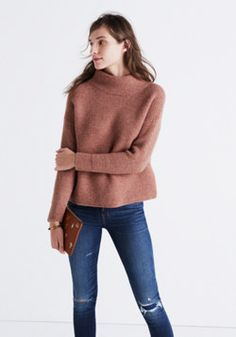 Southfield Mockneck Sweater : | Madewell xl or large