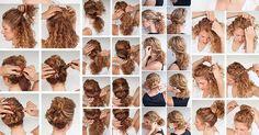 Peinados bonitos y sencillos paso a paso aquí