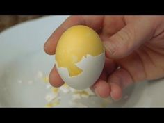 How to Scramble Hard Boiled Eggs  Inside Their Shell
