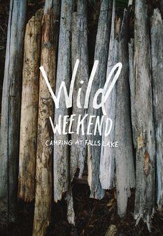 Wild Weekend: Camping at Falls Lake     The Fresh Exchange