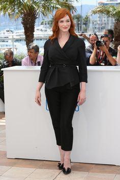 Christina Hendricks Photos - 'Lost River' Photo Call at Cannes - Zimbio