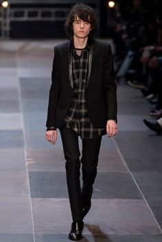 Saint Laurent Fall 2013 Menswear Fashion Show