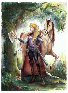 Goldilocks and Porridge. She has such a Joan of Arc vibe to her. Land Of Stories Series, Movies And Series, Book Series, Chris Colfer, Fanart, Good Books, My Books, Land Of Oz, Story Characters