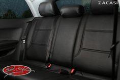 Design der Sitzbezüge: Paris: Leder-Optik (ZACASi Lederimitat) schwarz - mit vorher-nachher  #audi #audia3 #seatstyler #zacasi #sitzbezüge #seatcover #leder #lederimitat #hochwertig #maßgeschneidert