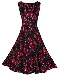 Women Vintage O-neck Floral Print 50s Cocktail Party Dres... https://www.amazon.com/dp/B01J7VIXA6/ref=cm_sw_r_pi_dp_x_WL3bybPMXSBCZ