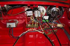 Simple and meticulous VW wiring