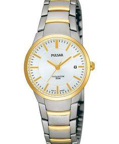 Pulsar Uhren Damenuhr Titanium Pulsar-PH7128X1,