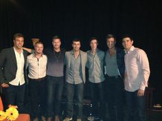 Now that is a good lookin crew! Country Music Association, Hanging Out, Awards, Concert, Recital, Concerts, Festivals