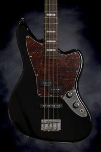 Squier Vintage Modified Jaguar Bass - Black