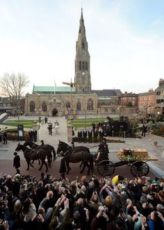 The King en route to the Cathedral.