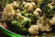 Herbed Cauliflower and Broccoli Salad