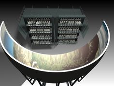 Our immersive Flying Theatre solution, ranges from a 30 – 115 person set up. The ultra large inverted dome screens are linked to our In-Mo solution to create a unique capability of interaction and real time scenario changing, enabling decision making capabilities for riders.