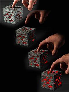 Minecraft Nightlight Redstone Ore!