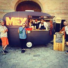 Tex mex food stall caravan