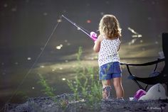 one of my favorite childhood memories...fishing with the family