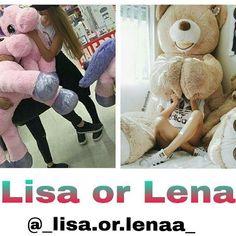Lisa or Lena? Subject: Plushie My Choice: Lisa