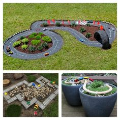 7 ideas for racing circuits in your garden - Creatistic