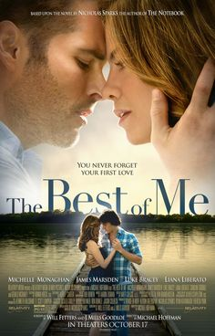 THE BEST OF ME | ★ ★ ★ | Release: 17 October 2014 | Country: USA | Cast: Liana Liberato, James Marsden, Michelle Monaghan, Luke Bracey | Watched on: Cinema, 22 October 2014 | #TheBestOfMe #LianaLiberato #JamesMarsden #MichelleMonaghan #LukeBracey #NicholasSparks #romance #film