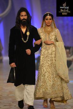 Teena by Hina Butt- Bridal Couture Women's Ethnic Fashion, Asian Fashion, Pakistani Outfits, Indian Outfits, Pakistan Bridal, Asian Wedding Dress, Desi Clothes, Asian Clothes, Pakistan Fashion