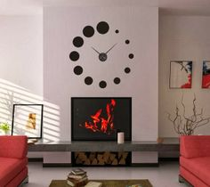 Querido, mudei a casa!: Relógios de parede